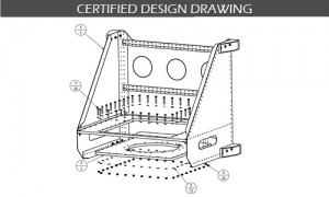 Certified Design Drawing